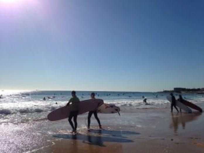 Surf à Lisbonne