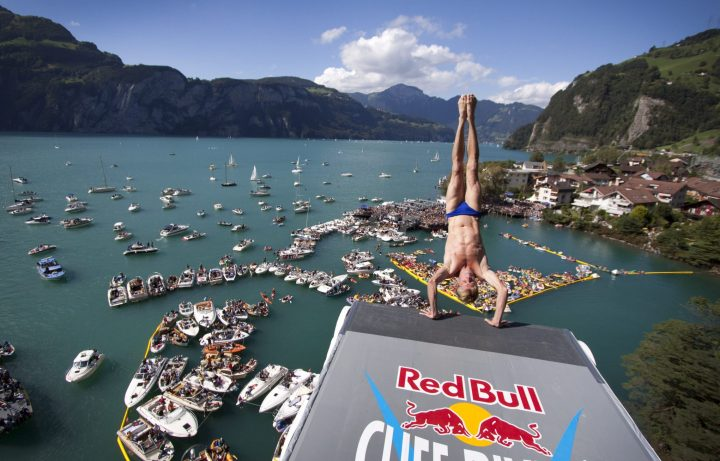 Red Bull Cliff Diving series 2009