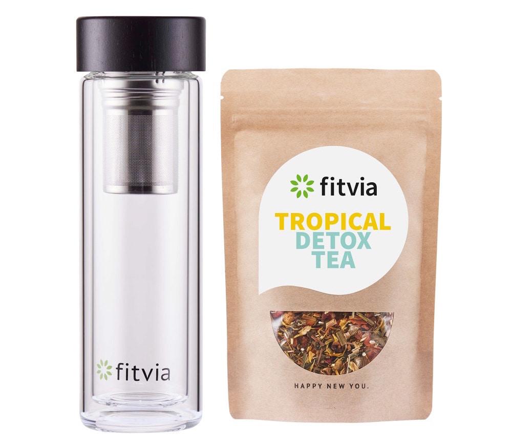 tropical detox tea Fitvia