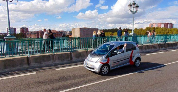 iodines - location de voitures électriques à la demande - Toulouse
