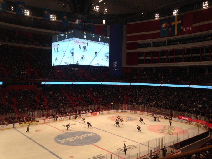 hockey stockholm globen djurgården