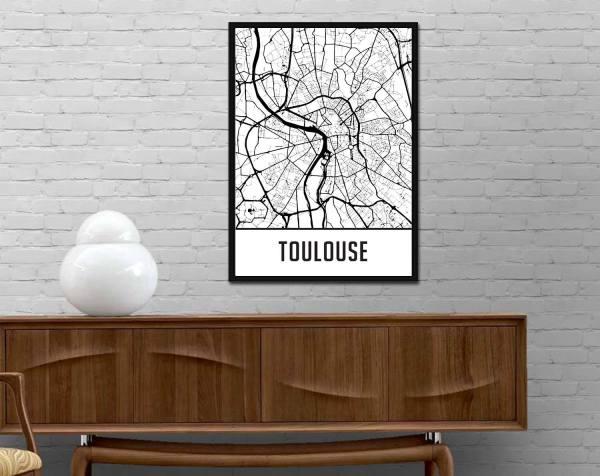 Décoration Map Toulouse
