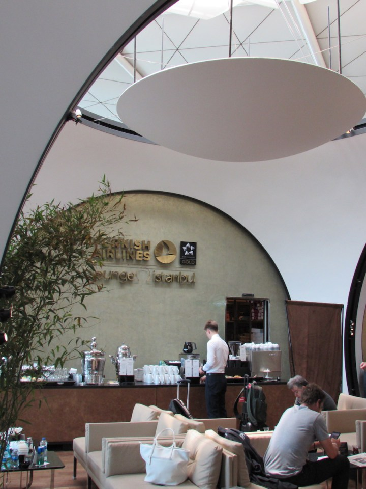 Istanbul Turkish Airlines Lounge
