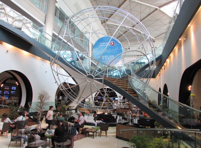 Lounge Turkish Airlines Istanbul