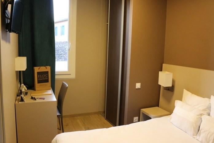 Chambre hôtel Le Pardaillan Gondrin