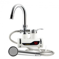 instant hot water faucet and shower head