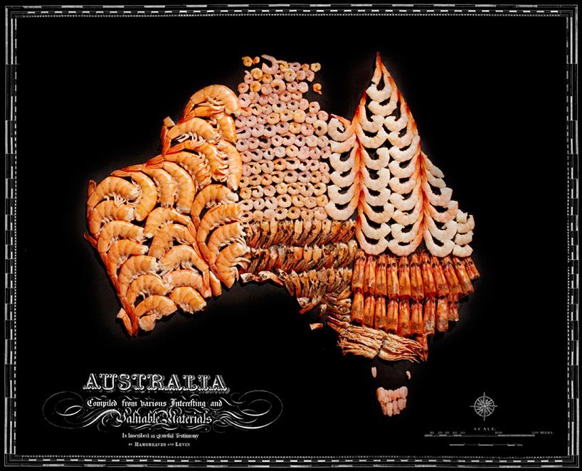 Esta é a melhor arte com comidas que eu já vi até hoje!