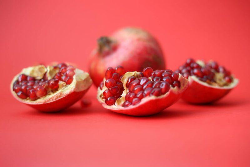 Mejores frutas para desayunar granada