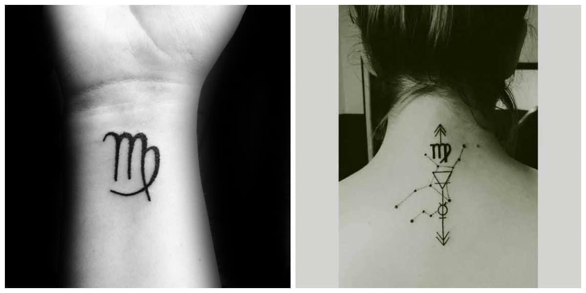 Tatuajes Del Signo Virgo Nuevas Tendencias De Los Tatuajes Para