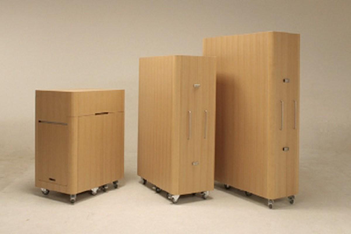 Kenchikukagu muebles plegables nuevas tendencias en el for Ultimas tendencias en muebles para el hogar