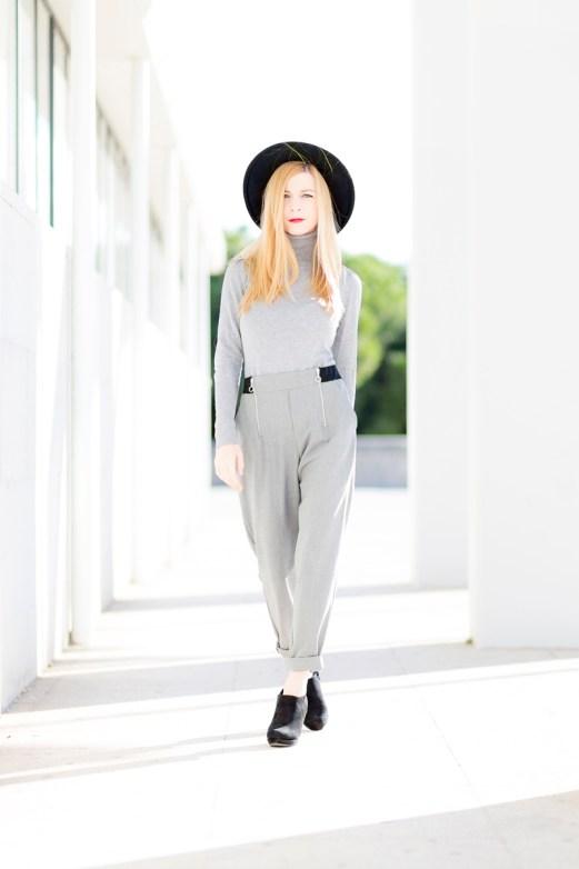 look grey casual