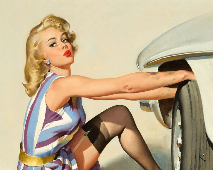 como crear un estilo pin up