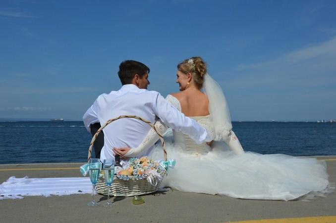 El protocolo para una boda civil