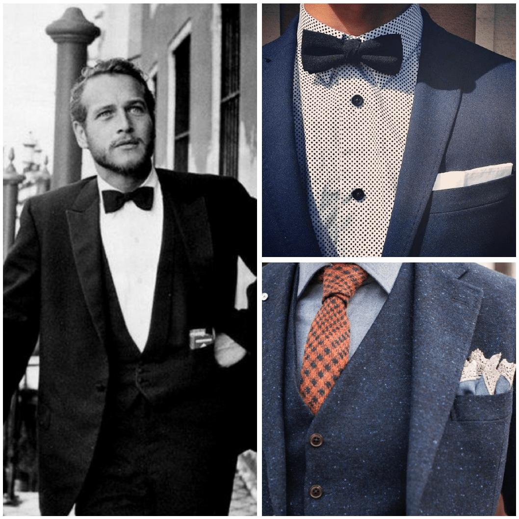 ¿Pajarita o corbata?