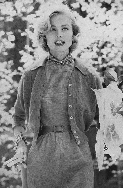 look vintage de los años 50