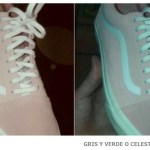 Como lo ves gris y verde o rosa y blanco