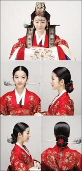 peinado coreano 2