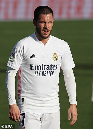 Eden Hazard arrived at Real Madrid in 2019 five kilos overweight