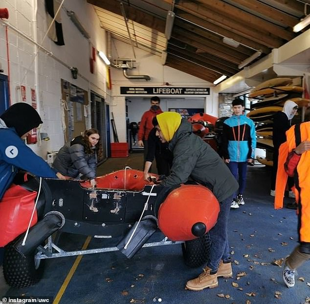 The College has a strong tradition of boat design and boat building with members of the 'seafront service' required to keep the boathouse clean and tidy