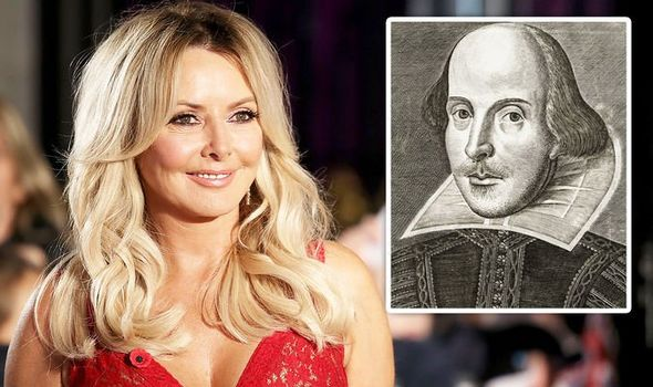 CAROL VORDERMAN TV WILLIAM SHAKESPEARE CUENTA ATRÁS