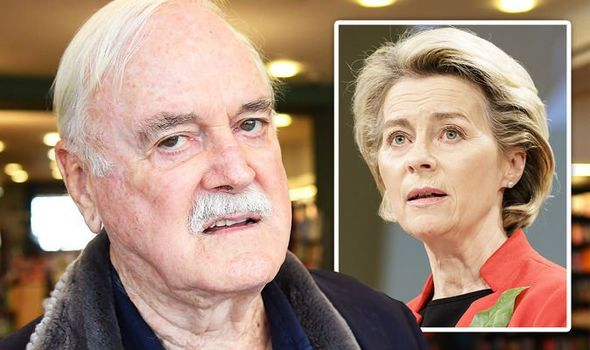 John cleese fawlty towers brexit ue vacuna covid