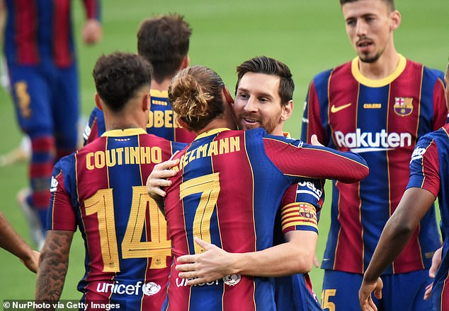 Barcelona have begun a mini revival of late and have mounted the pressure on Atletico