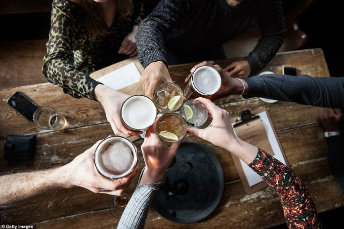 People will be able to enjoy a drink inside a pub from tomorrow, to the relief of those who have shivered outside with friends