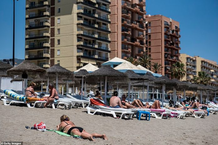 The conditions looked ideal for those deciding to visitFuengirola today as the Spanish government added the UK to the list of countries not needing to quarantine