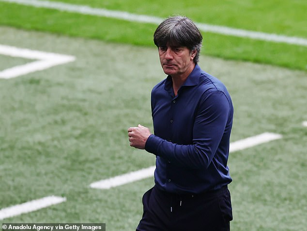 Joachim Low was trolled on social media for being caught with questionable personal hygiene