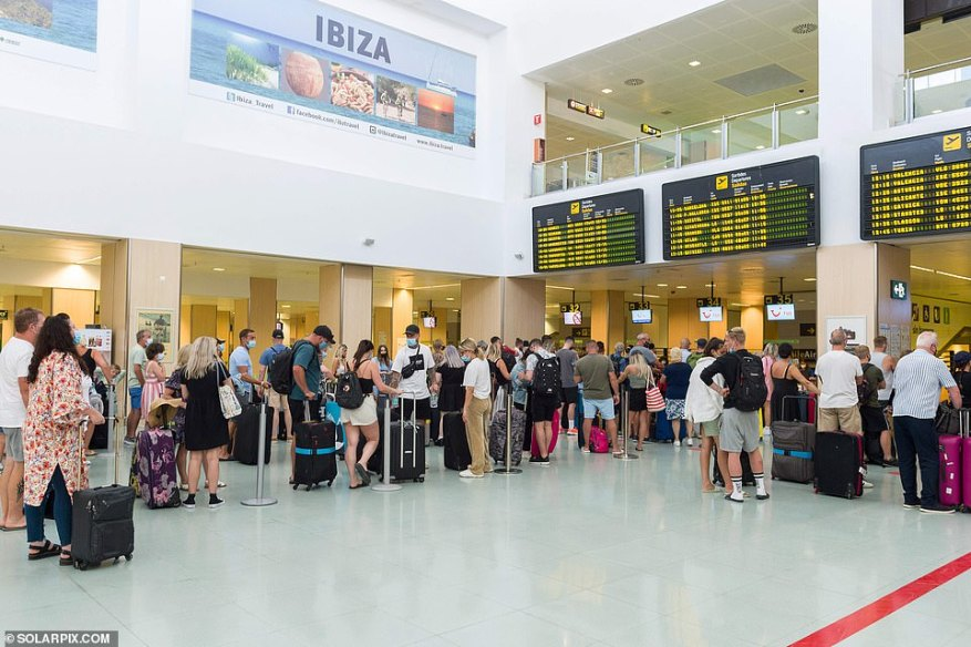 Double-vaccinated people will still be able to return from the Balearic Islands quarantine free, even though they are on the amber list, when travel rules change on Monday