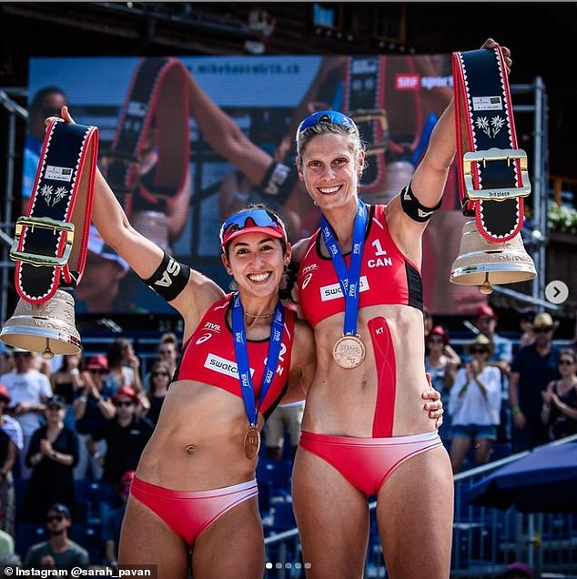 Pavan and Humana-Paredes won bronze in Gstaad at the FIVB Beach Volleyball World Tour last month