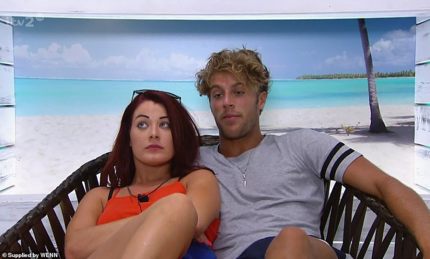 Short-lived:They split after the show and Jess is now engaged, while Max remains single [pictured on the show]