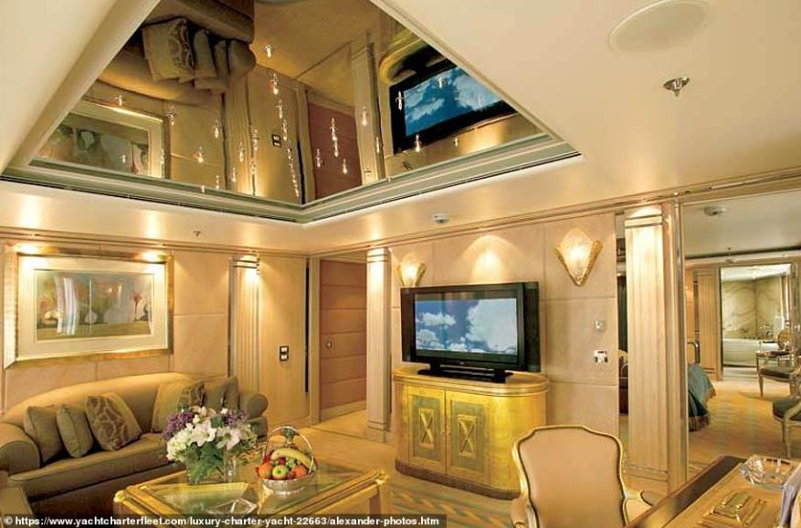 Wow!Amongst her 40 cabins are 14 suites each with two double bedrooms, two bathrooms and a salon; a master suite with bathroom, separate Jacuzzi and salon; and 12 staterooms with private en suite facilities
