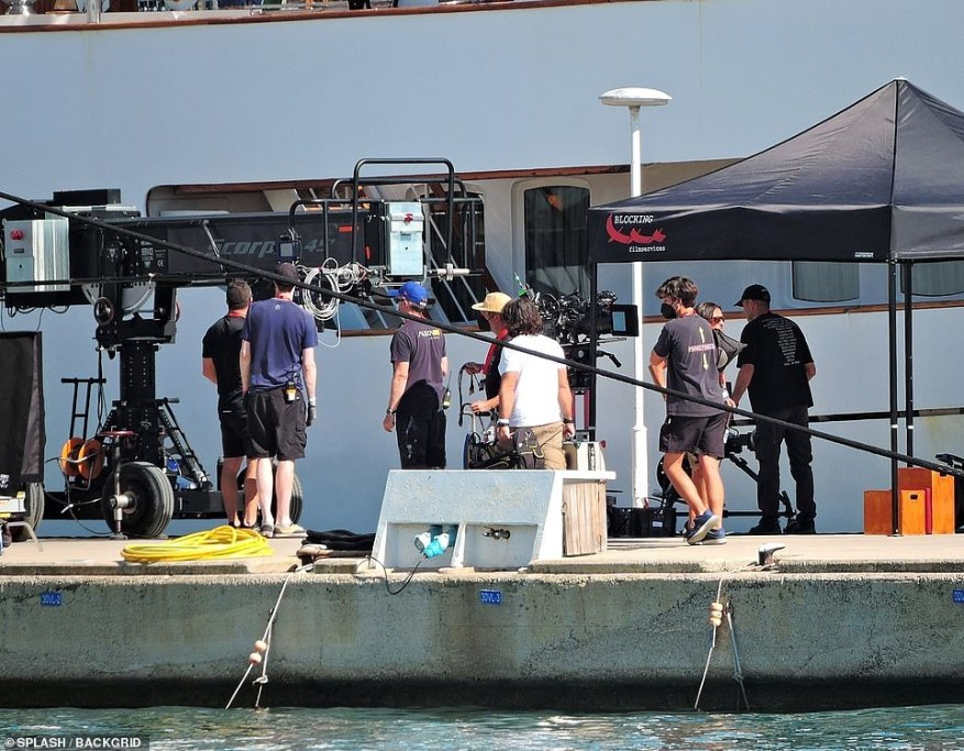 Equipment: The crew made sure to capture all the action