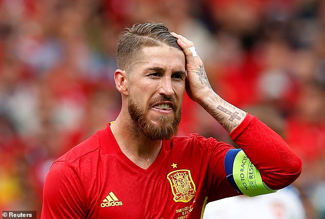 It is a big compliment to the defence that there have been no calls for Sergio Ramos to return