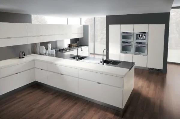 de 30 fotos de decoracin de Cocinas Blancas modernas