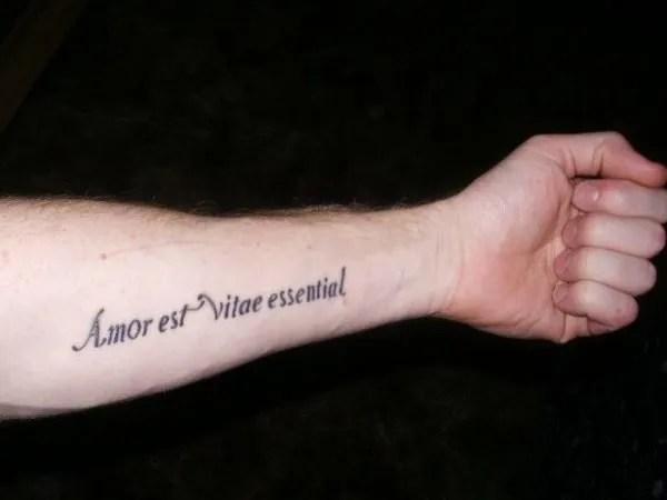 Frases Cortas Para Tatuajes 2019 En Español Inglés Francés Y Latín