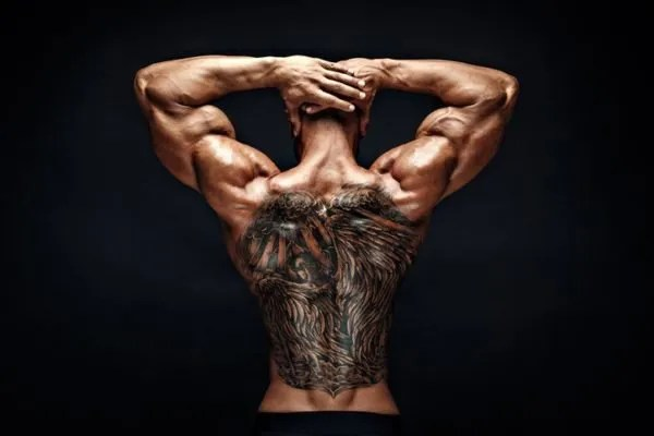 De 20 Fotos De Bonitos Tatuajes En La Espalda