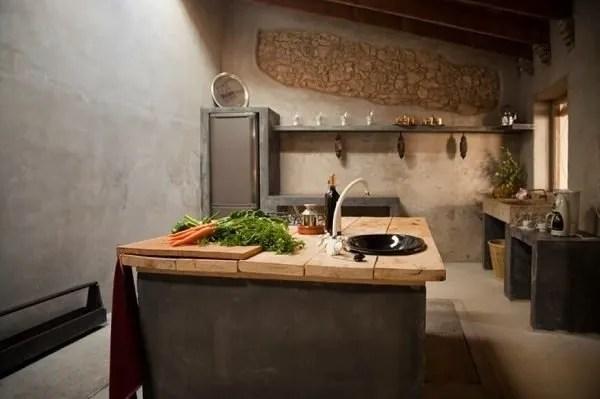 60 ideas de decoracin de cocinas rsticas y cocinas de obra Fotos  Tendenziascom
