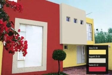 colores casas fachadas fachada comex tu casa pintar pintura exteriores blanco pinturas rojo combinaciones exterior fuera bonitos modernas vibrantes elegantes