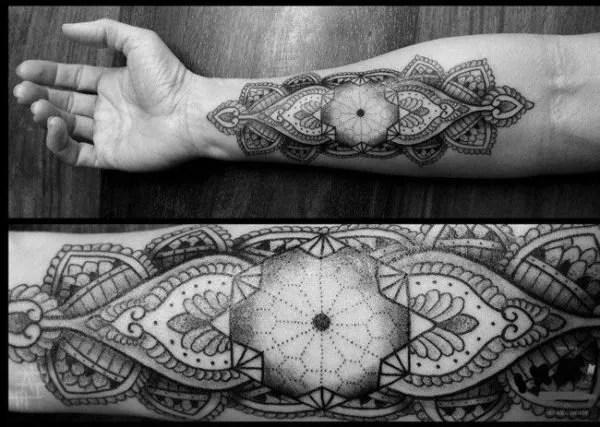 De 100 Diseños De Tatuajes Mandalas