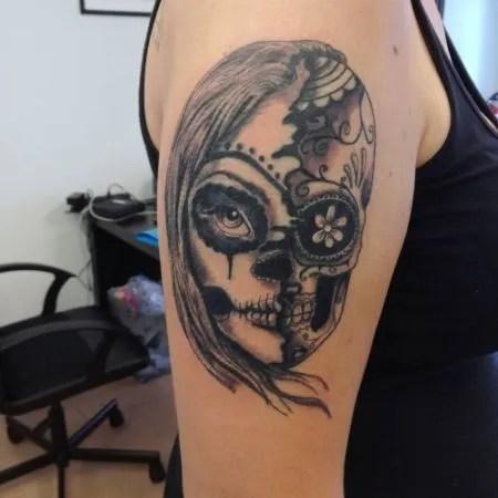 Más De 10 Tatuajes De Calaveras Mexicanas Tendenziascom
