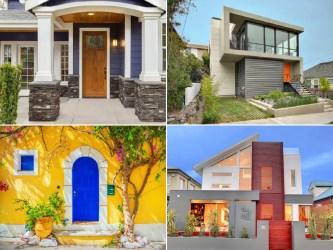 casas colores exteriores fachadas tendenzias