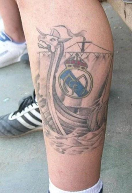 Tatuaje Del Real Madrid Tendenziascom