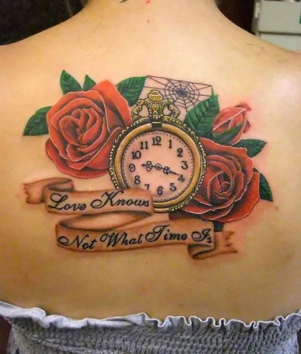 Los Mejores Diseños De Tatuajes De Relojes 2019 Tendenziascom