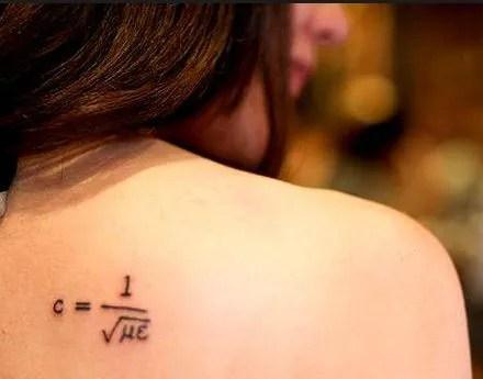 Tatuajes De Signos Matématicos Tendenziascom