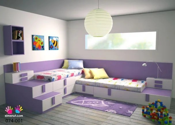 Dormitorios infantiles 2015 como decorarlos  Tendenziascom