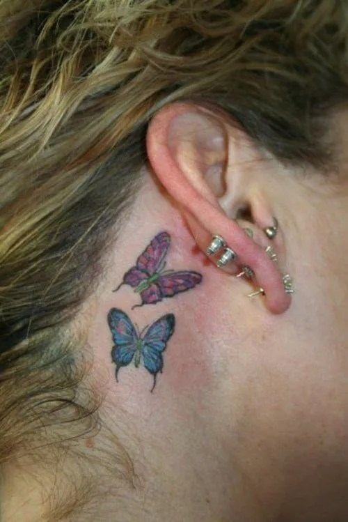 Tatuajes Detras De La Oreja Tendenziascom