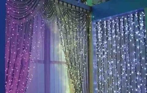 20 fotos de cortinas para Navidad 2018  Tendenziascom