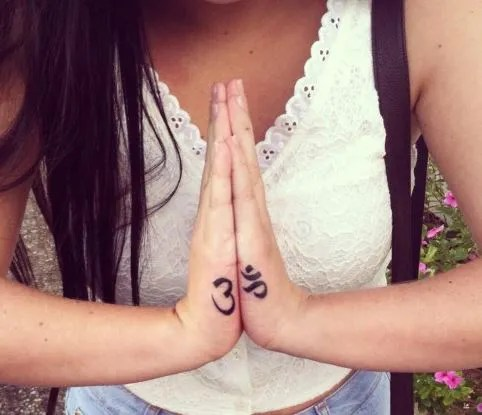 Tatuajes De Om Tendenziascom